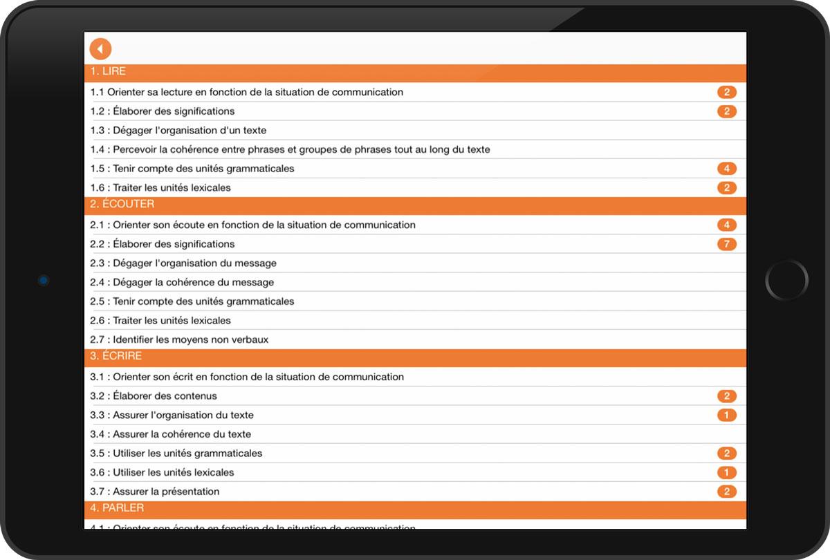 Programme intégré, socles de compétences, cecp, tronc commun